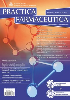 Revista Practica Farmaceutica, Vol. 7, Nr. 1 (21), 2014