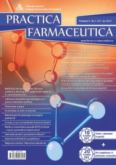 Revista Practica Farmaceutica, Vol. 6, Nr. 1 (17), 2013