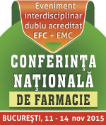 Conferinta Nationala de Farmacie 2015