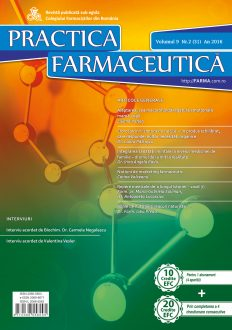Revista Practica Farmaceutica, Vol. 9, Nr. 2 (31), 2016