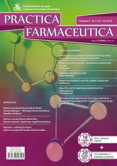 Revista Practica Farmaceutica, Vol. 9, Nr. 3 (32), 2016
