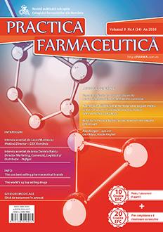 Revista Practica Farmaceutica, Vol. 9, Nr. 4 (34), 2016