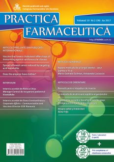 Revista Practica Farmaceutica, Vol. 10, Nr. 2 (36), 2017