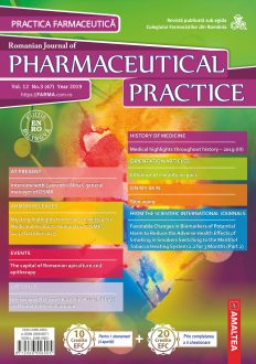 Revista Practica Farmaceutica, Vol. 12, Nr. 3 (47), 2019