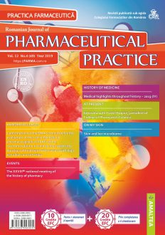 Revista Practica Farmaceutica, Vol. 12, Nr. 4 (49), 2019