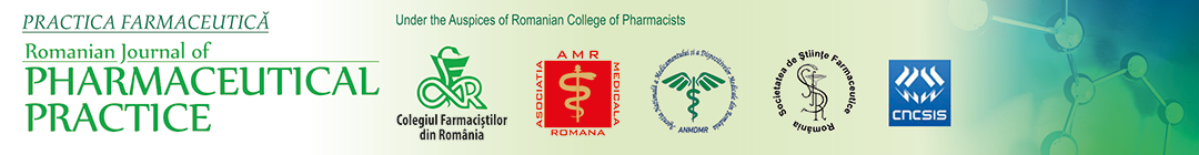 Romanian Journal of Pharmaceutical Practice Logo